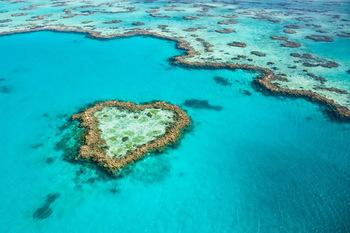 【ハート型地形02】オーストラリアのハート型のサンゴ礁].jpg